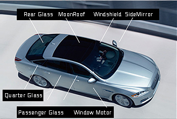 about low price auto glass window glass chip repair - Automotive Glass